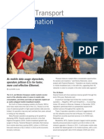 Tellabs Insight Magazine - Russia's Transport Transformation