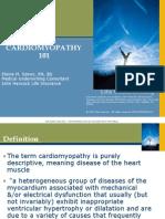 Cardiomyopathy - Tutorial