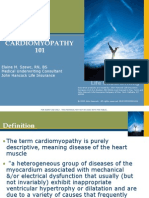 Cardiomyopathy - Tutorial