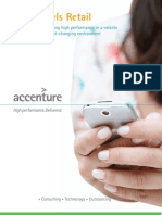 Accenture Fuels Retail Achieving High Performance Volatile Fast Changing Environment