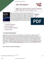 Introduction to UML 2 Class Diagrams