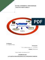 Analisis de La Planeacion Estrategica