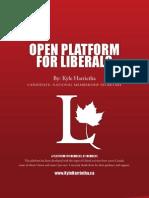 'Open Platform for Liberals' by Kyle Harrietha