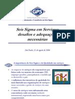 Seis Sigma Em Servicos