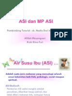 ASI dan MP ASI