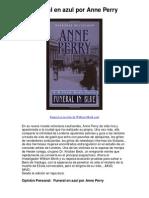 Funeral en azul por Anne Perry - 5 estrellas revisión