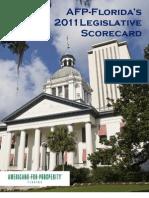 2011 Legislative Scorecard