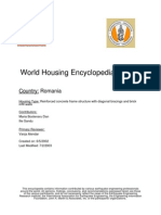 World Housing Encyclopedia Report Romania