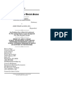 Public Knowledge Amicus Brief in John Wiley & Sons, Inc. v. Kirtsaeng Petition for Certiorari