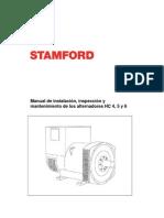 Manual de Servico de Alternadores HC _ STAMFORD