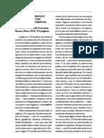 """""""Democracia, agencia y Estado. Teoría con intención comparativa"""" de Guillermo O'Donnell (reseña) - Martín D'Alessandro"""