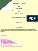 Arthur E Powell - The Causal Body the Ego