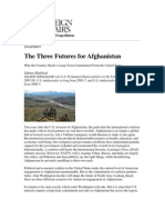 3 Futures for Afghanistan