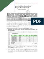 Evaluasi Test Masuk Kerja Dengan Microsoft Excel