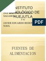 Diapositivas Fuentes de CA y CD