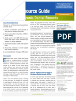 Electronic Dental Records 2nd Edition