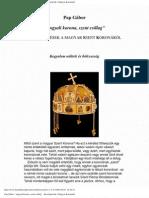 Pap Gábor - Angyali Korona, Szent Csillag