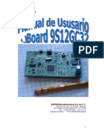 Manual de Usuario de uBoard 9S12GC32