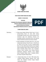 Peraturan KPU No. 19 Tahun 2008