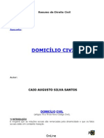 Domicilio Civil