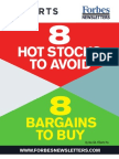 Stocks to Avoid and Stocks to Buy