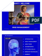 PROF. MADHAVAN - MIND MANAGEMENT FOR MBA