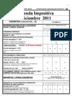 Agenda Impositiva Diciembre 2011- Pi