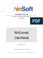 Win Connect User Manual