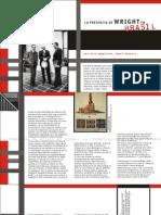 La Presencia de Frank Lloyd Wright en Brasil (Spanish)