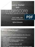 Getting Started With MuseScore