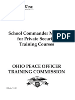 OPOTC Private Security Training Courses