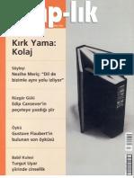 Ahmet Bozkurt, Afrodizyak Denge, Kitap-lık, Mart 2006, sayı 92