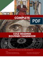 SLA Cold Reading Handbook