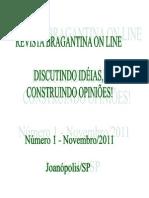 Revista Eletrônica Bragantina On Line - Novembro/2011