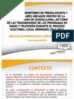 Presentacion Monitoreo de Medios
