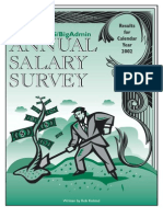 2002 Salary Survey