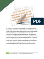 Evaluación de Desempeño 2011 - GUIA RAPIDA PARA MANAGERS