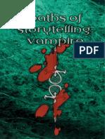 Vampire the Masquerade - Paths of Storytelling