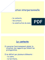 Communication Interpersonnelle-Formation 1STG