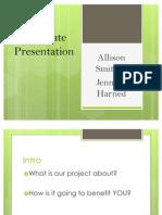 UPDATED Grad Presentation