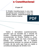 Fundamentos Gerais Do Dir Constitucional