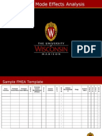 FMEA Lecture Notes