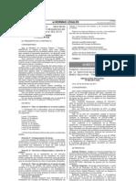 DS 099-2011-PCM (dias no laborables sector público 2012)