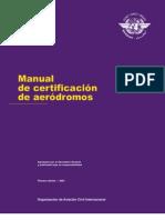 Mmanual de Certificacion de Aerodfromos