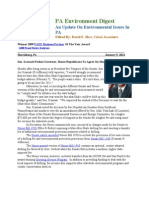 Pa Environment Digest Jan. 9, 2012