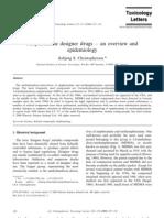 Asbjørg S. Christophersen- Amphetamine designer drugs – an overview and epidemiology