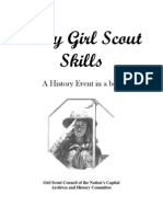 FOUND Early Girl Scout Skills Leader Guide