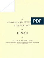 Jonah - From ICC -A Critical and Exeg. Comm. 25 - 1912 [1951]