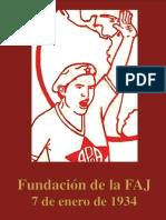 Fundación de la FAJ - 7 de enero de 1934