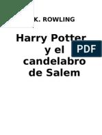 Rowling.HarryPotter y el candelabro de Sálem
